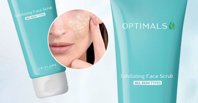 Esfoliante Facial Optimals da Oriflame