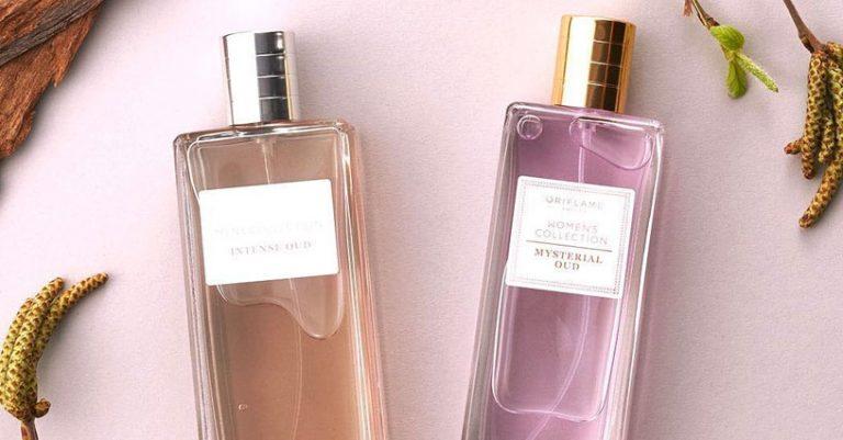 Fragrâncias Oud Collection da Oriflame
