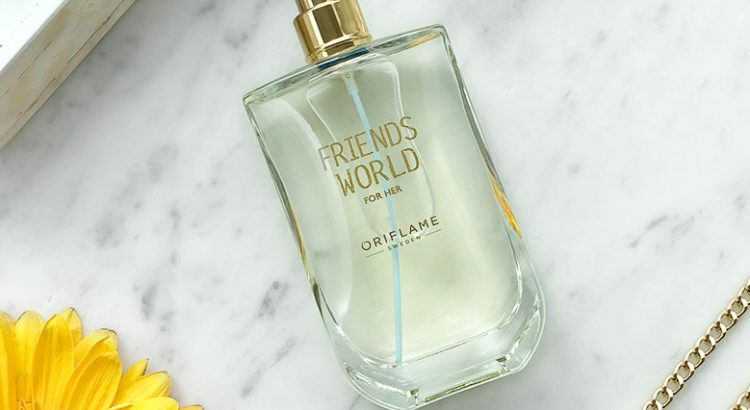 Eau de Toilette Friends World para Ela