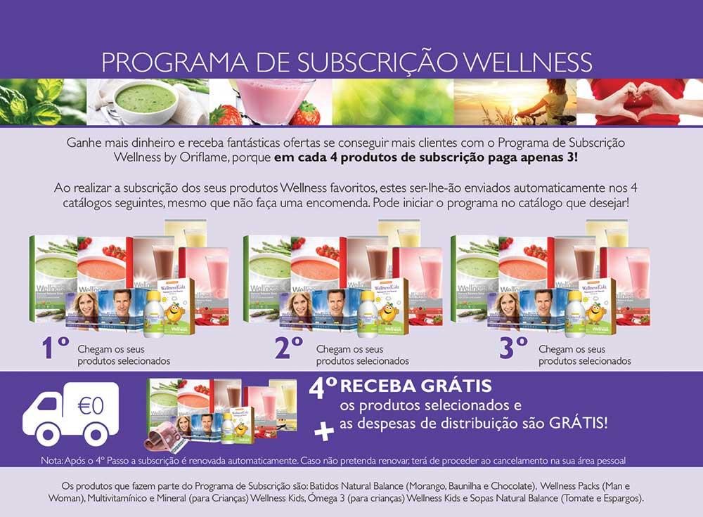 Programa Subscrição Wellness