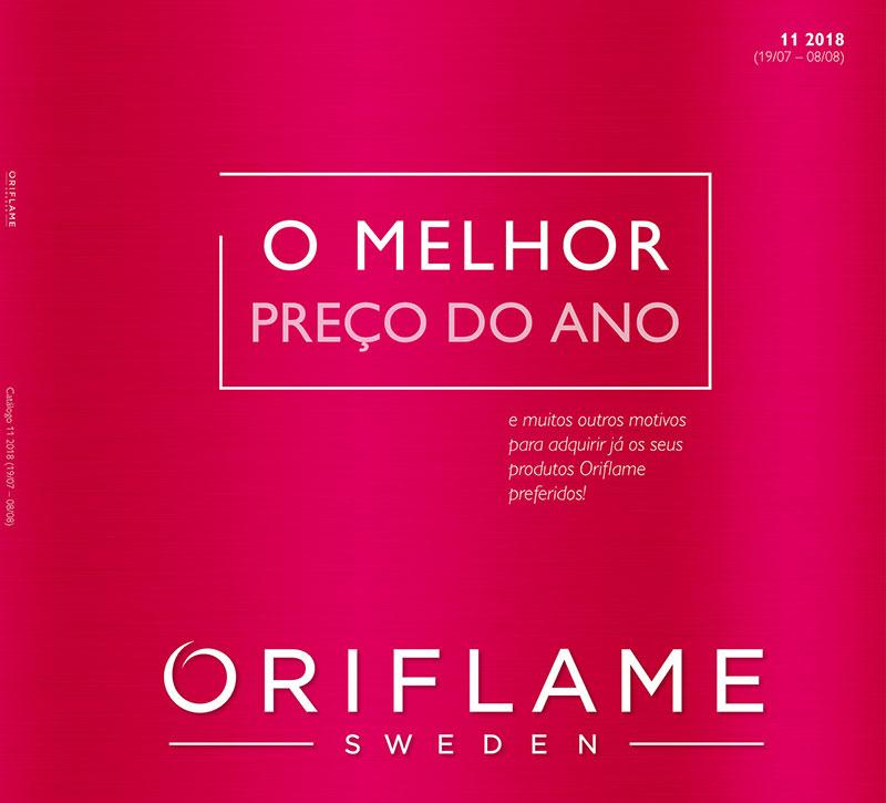 Catálogo 11 de 2018 da Oriflame