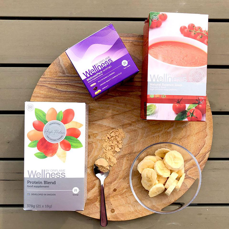 Suplementos Nutricionais Wellness Oriflame