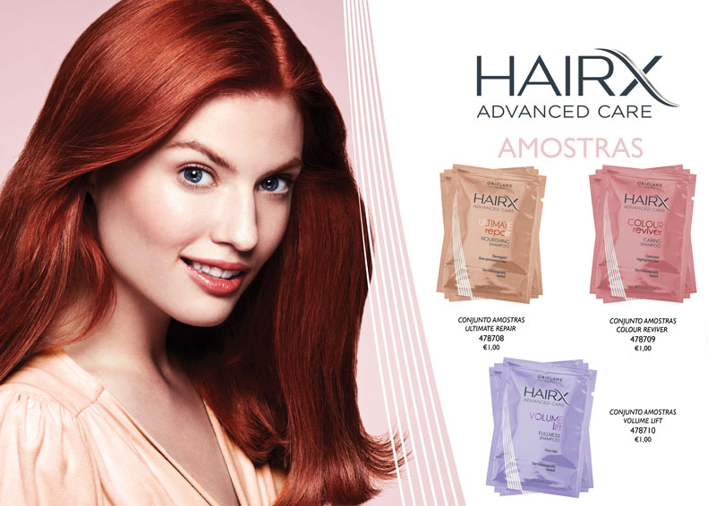 Amostras HairX Advanced Care