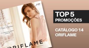 Top 5 Promoções do Catálogo 14 de 2018