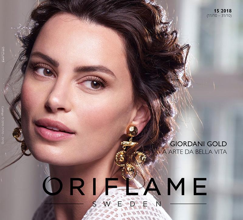 Catálogo 15 de 2018 da Oriflame
