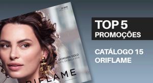 Top 5 Promoções do Catálogo 15 de 2018 da Oriflame