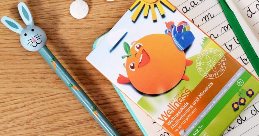 Multivitamínico e Mineral (para crianças) WellnessKids