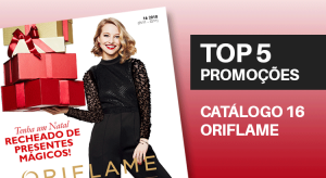 Top 5 do Catálogo 16 de 2018 da Oriflame