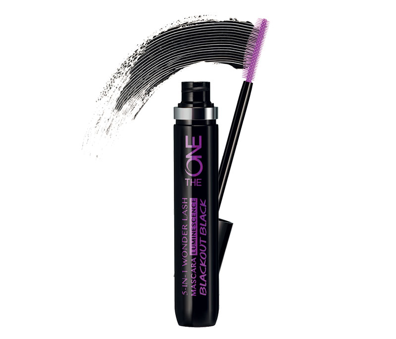 Máscara de Pestanas 5 em 1 Wonder Lash Luminescence Blackout Black