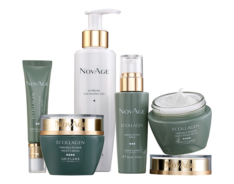 Conjunto Wrinkle Power Ecollagen NovAge
