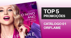 Promoções do Catálogo 01 de 2019 da Oriflame