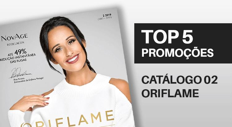 Top 5 Promoções do Catálogo 02 de 2019
