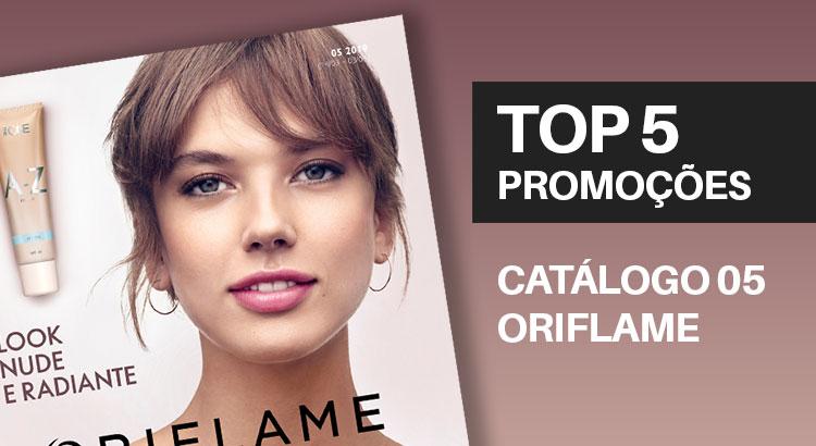 Promoções do Catálogo 05 de 2019 da Oriflame