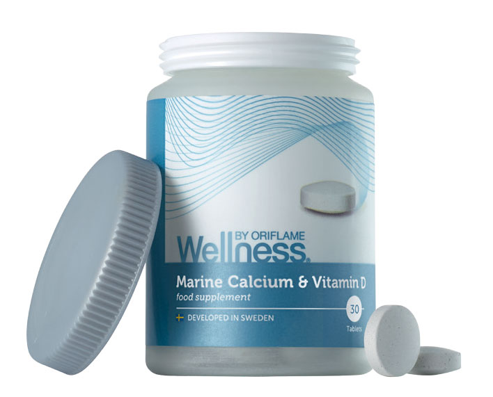 Suplemento Cálcio Marinho e Vitamina D