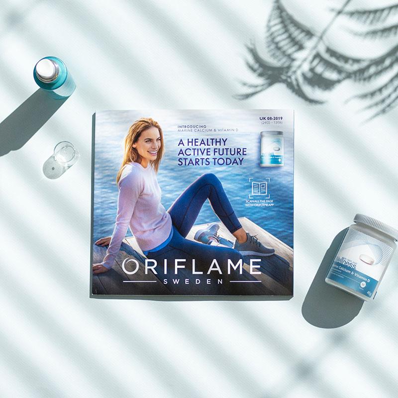 Catálogo nas vendas Oriflame