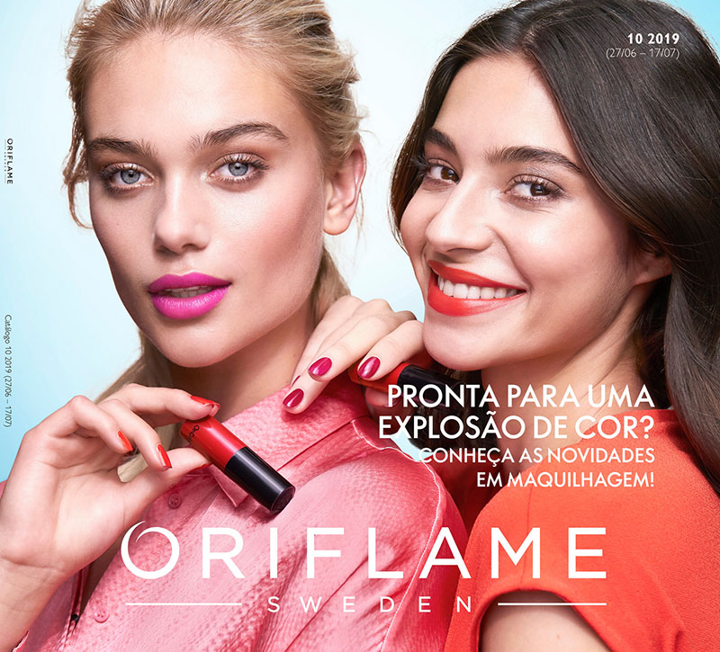 Catálogo 10 de 2019 da Oriflame