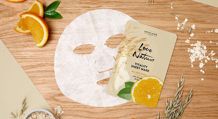 Máscaras Faciais em Tecido Love Nature