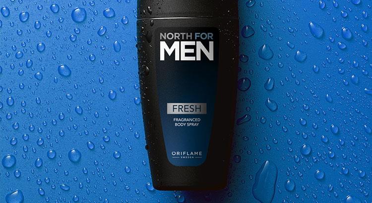 Spray Corporal Perfumado North for Men