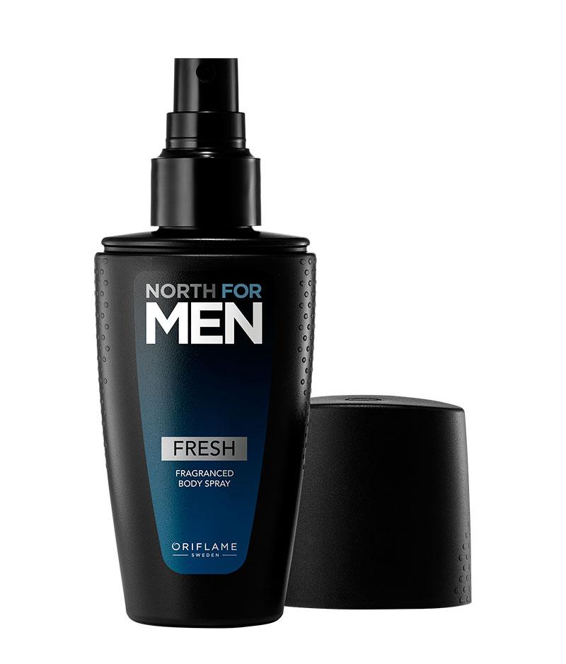 Spray Corporal Perfumado Fresh North for Men