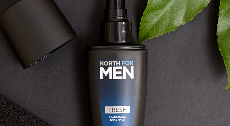 Spray Corporal Perfumado North for Men