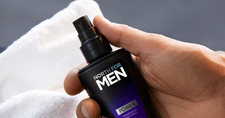 Sprays Corporais Perfumados North for Men