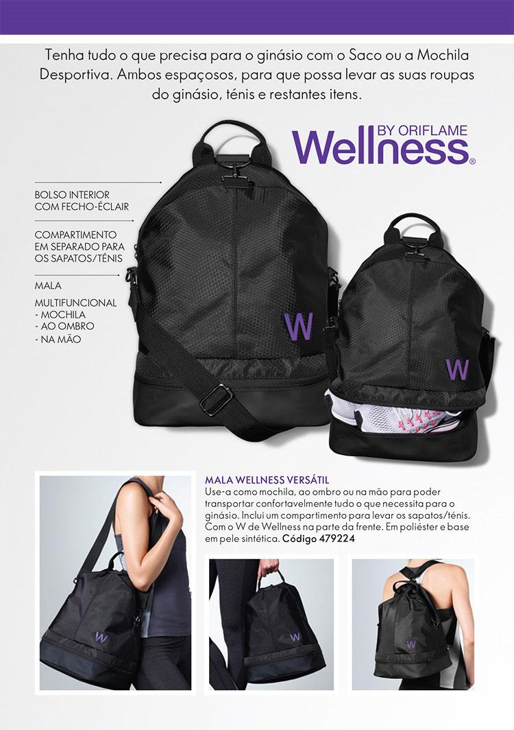 Campanha Super VIP - Mochila Wellness
