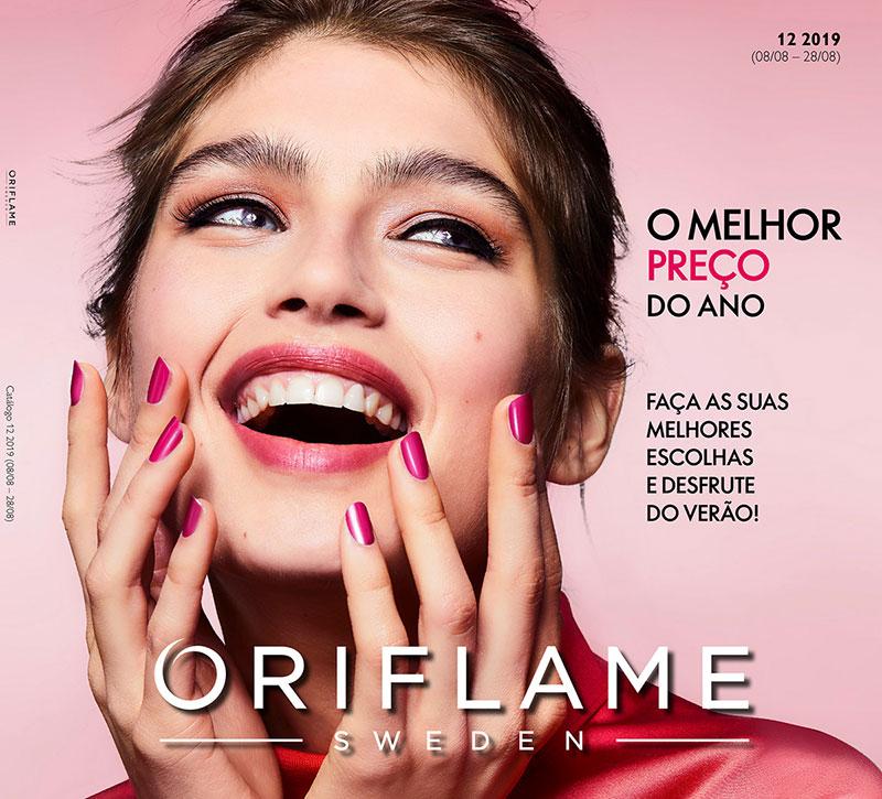 Catálogo 12 de 2019 da Oriflame