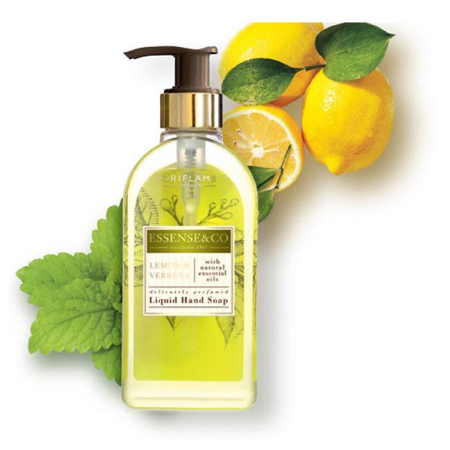 Sabonete Líquido para Mãos com Limão e Verbena Essense&Co