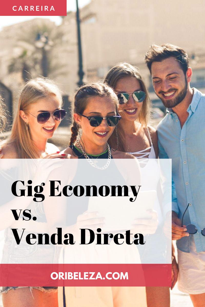 Gig Economy e a Venda Direta Pinterest