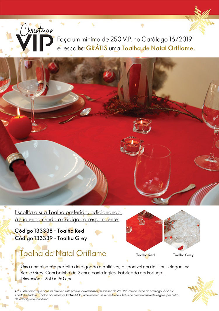 Toalha de Natal folheto 1