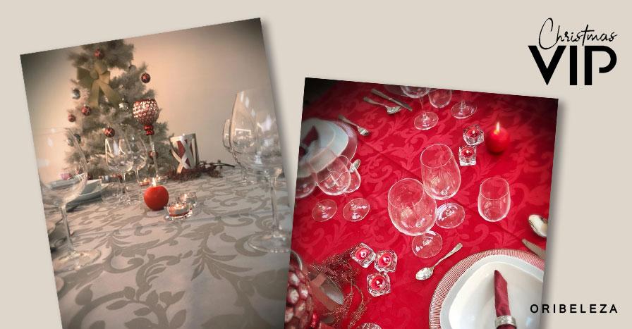Toalhas de Natal 2019 Oriflame - Christmas VIP