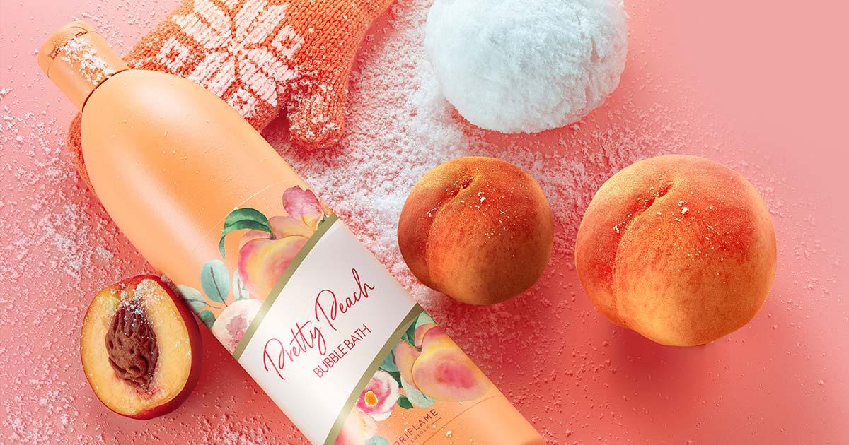 Espuma de Banho Pretty Peach