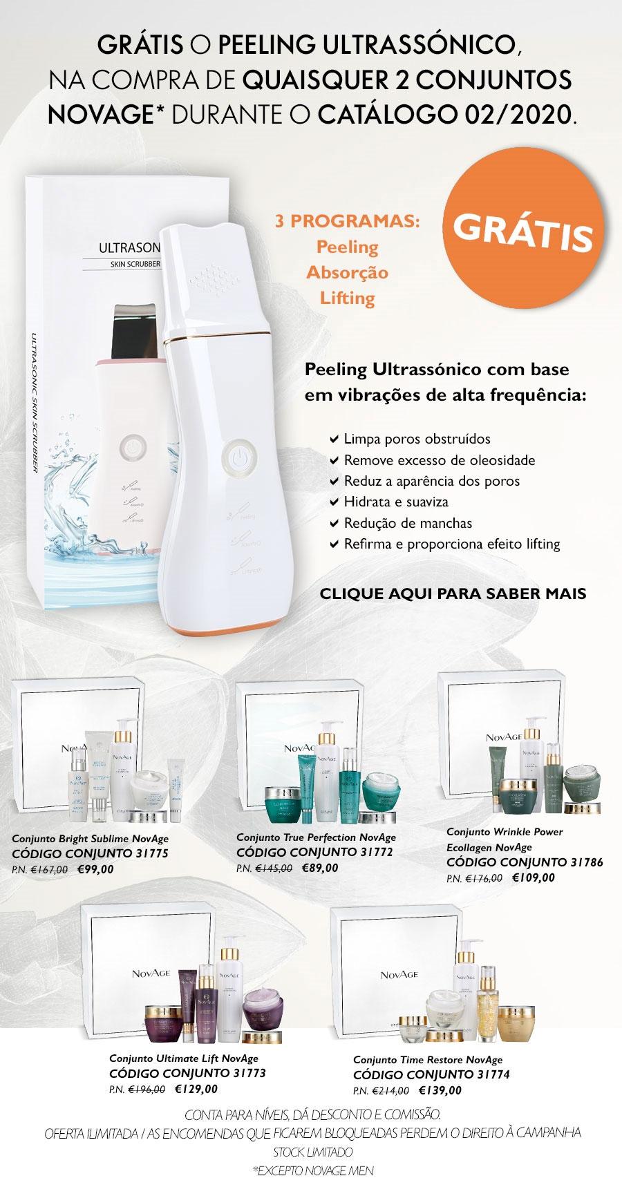 Folheto Campanha Extra NovAge
