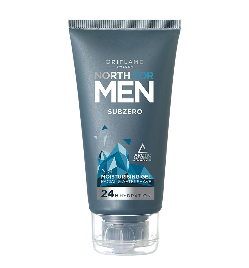 Gel Hidratante para o Rosto 2 em 1 Subzero North For Men