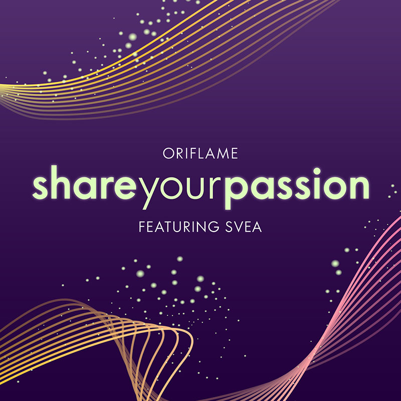 Share Your Passion - Tema Oriflame 2020