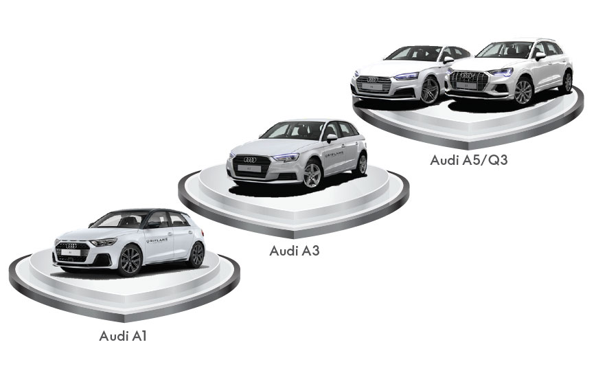 Viaturas Audi Oriflame