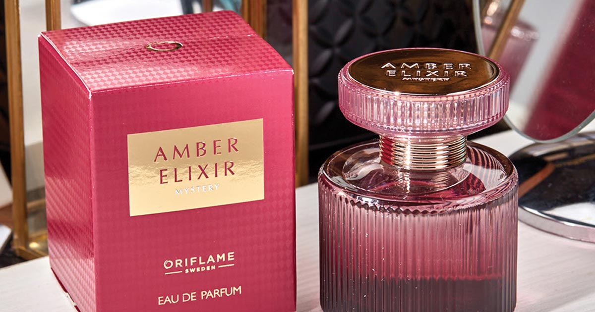 Eau de Parfum Amber Elixir Mystery