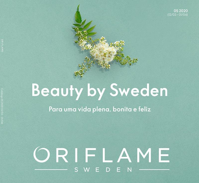 Capa do Catálogo 05 de 2010 da Oriflame