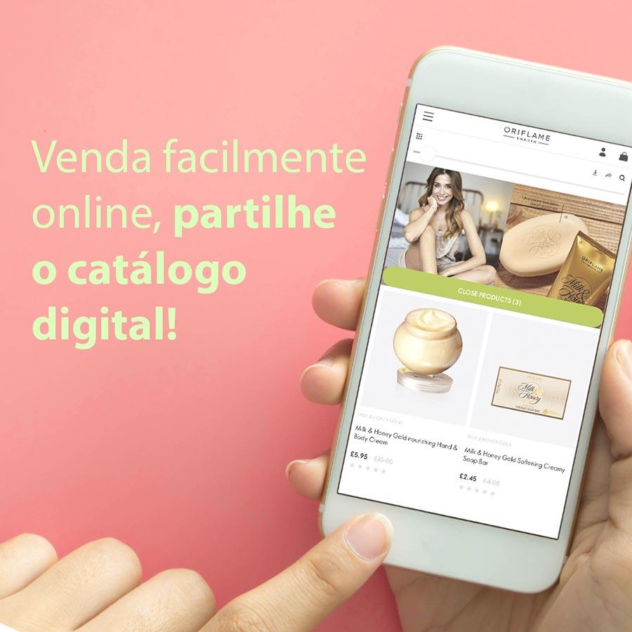 Partilhar Catálogo Digital