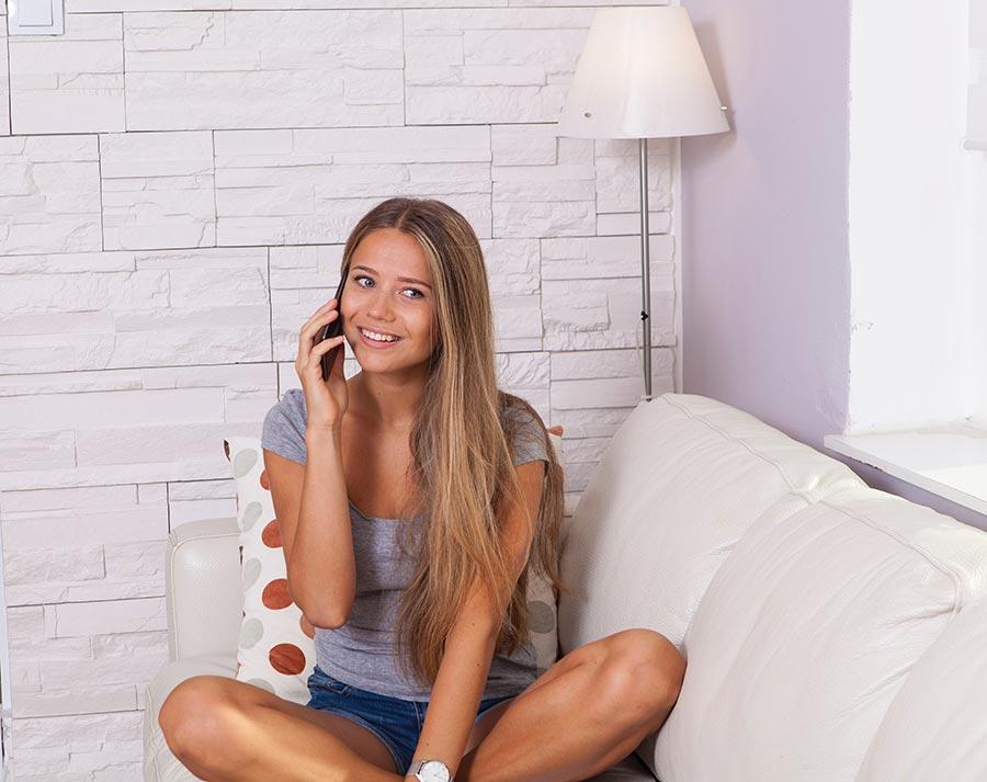 Trabalhar em casa - contacto com clientes