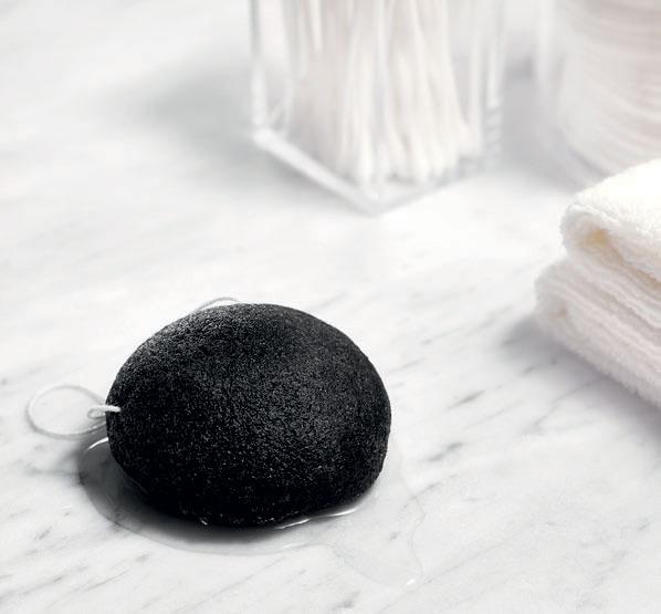 Esponja Konjac de Carvão