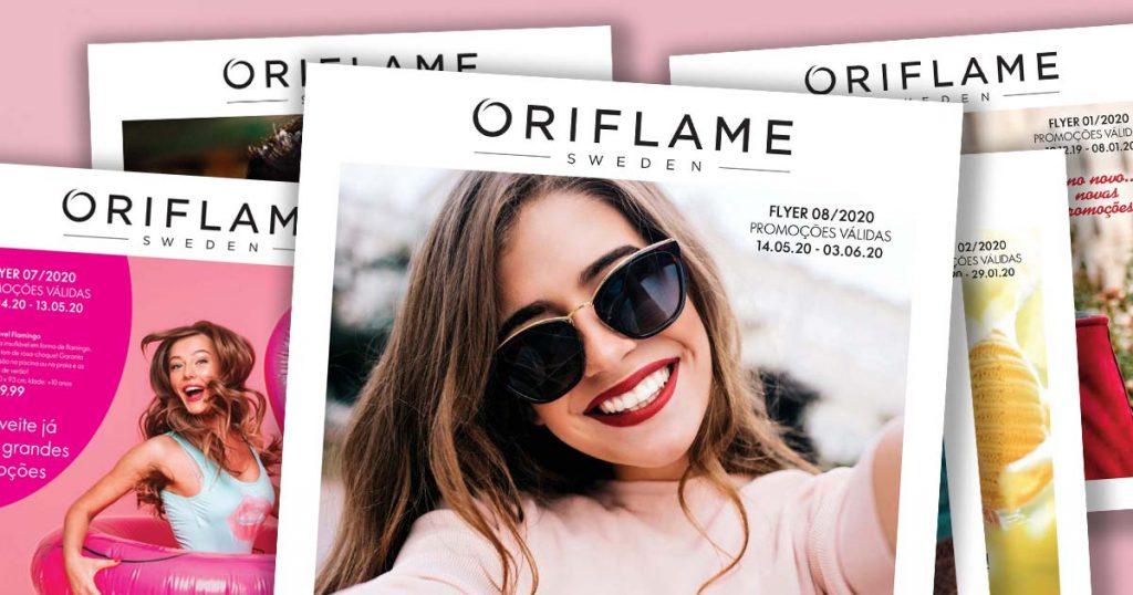 Flyer do Catálogo 08 de 2020 da Oriflame