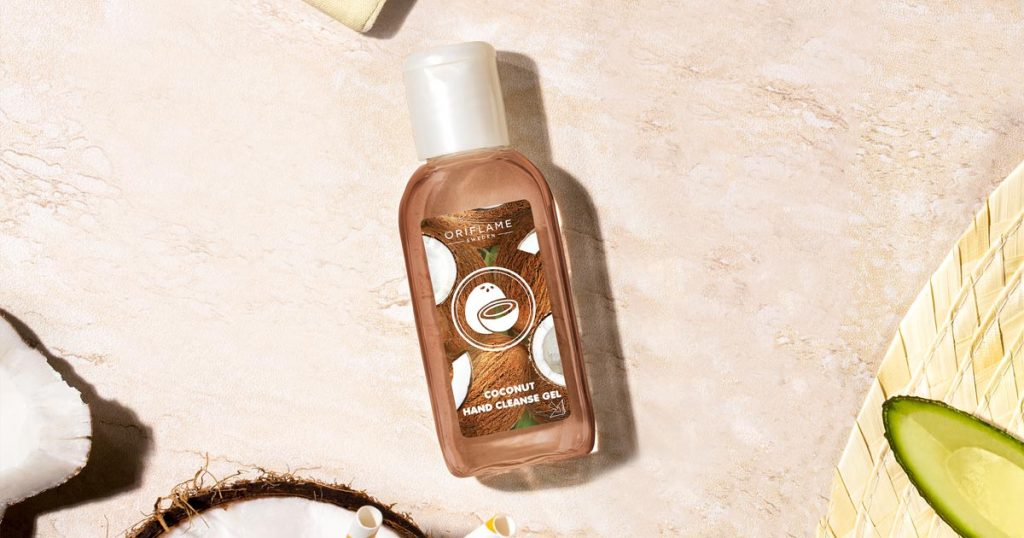 Beleza em Tempos de Pandemia - Gel de Limpeza para Mãos Coco