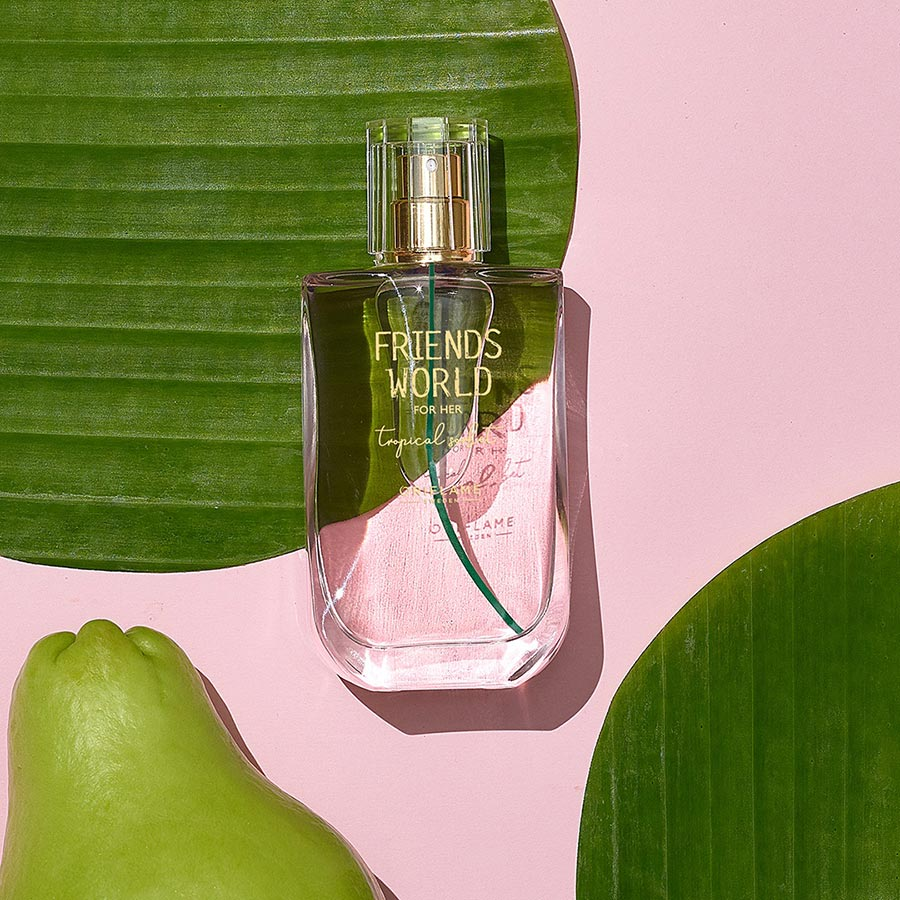 Eau de Toilette Tropical Sorbet Friends World para Ela