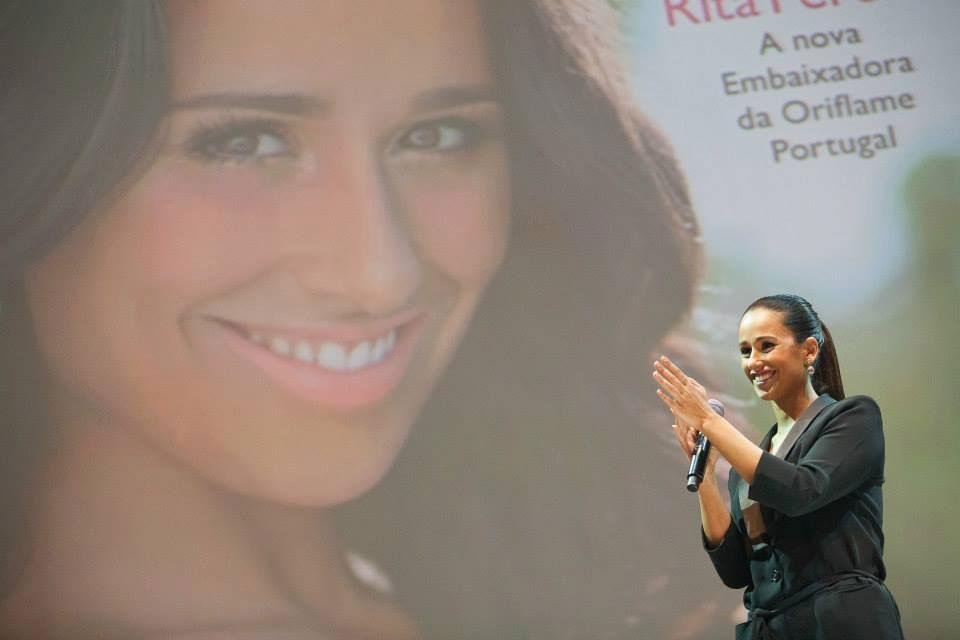 Apresentação de Rita Pereira como Embaixadora Oriflame