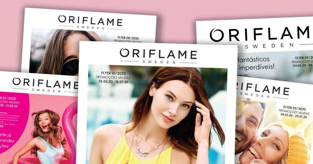 Flyer do Catálogo 10 de 2020 da Oriflame