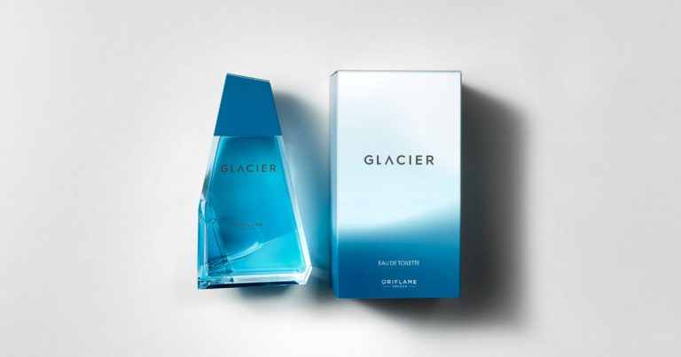 Fragrância Glacier da Oriflame