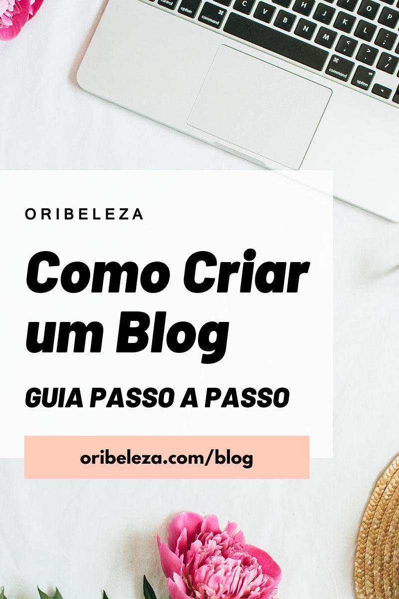 Como Criar um Blog - Guia Passo a Passo - Pinterest