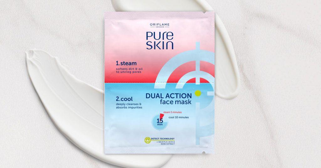 Máscara Facial Dupla Ação Pure Skin
