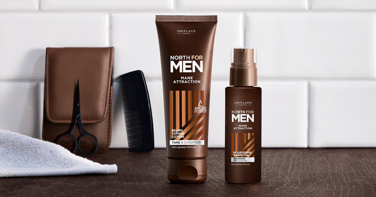 Produtos para Barba Mane Attraction North For Men